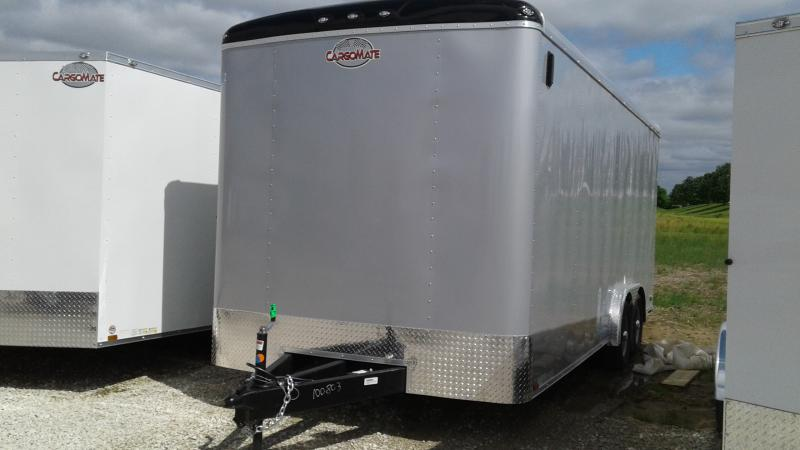 2020 8x20 TA Cargo Mate BL820TA3 Enclosed Cargo Trailer - Ramp Door - 12