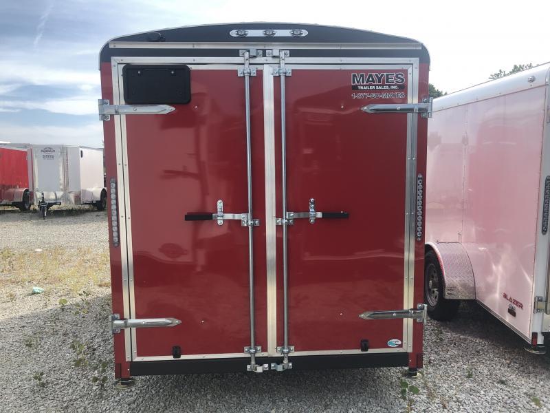 2020 6x12 SA Cargo Mate BL612SA Enclosed Cargo Trailer - Double Door with Dual Cambars (GVW:  2995)