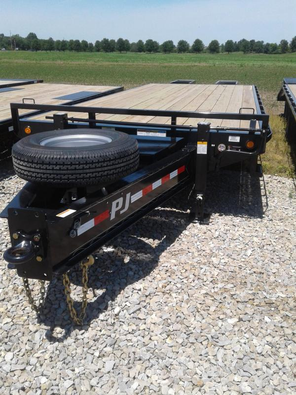 2019 PJ Trailers 25' Classic Pintle with Duals Trailer