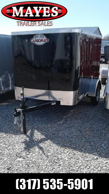 2020 5x8 Cargo Mate SS58SA Enclosed Cargo Trailer - Single Rear Door (GVW:  2000)