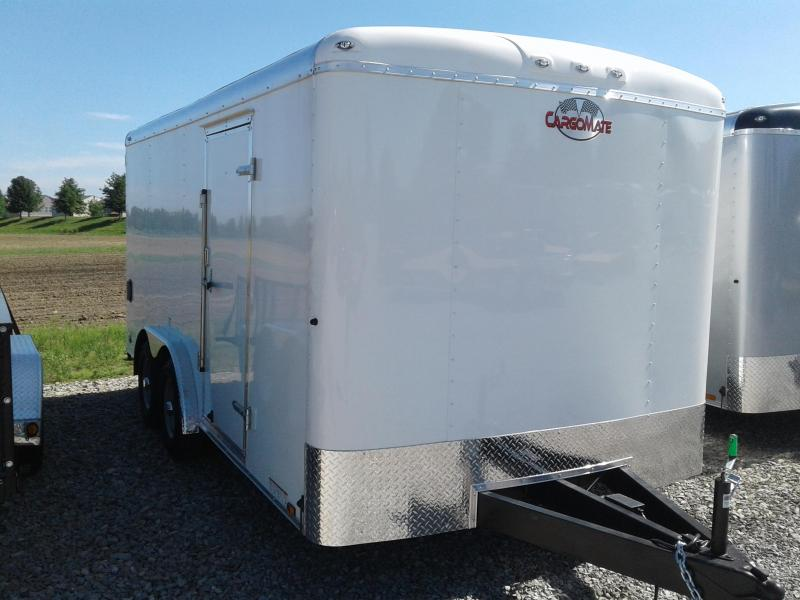 2019 8x16 Cargo Mate BL816TA3 Enclosed Cargo Trailer - Polar White (RD)(GVW: 9800)