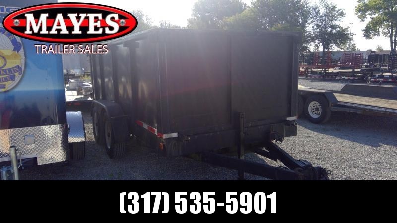Used 2001 14 Foot TA Other 14' Dump Trailer Dump Trailer - 2 5/16 Inch Coupler - 4 Foot High Sides (GVW:  14000)