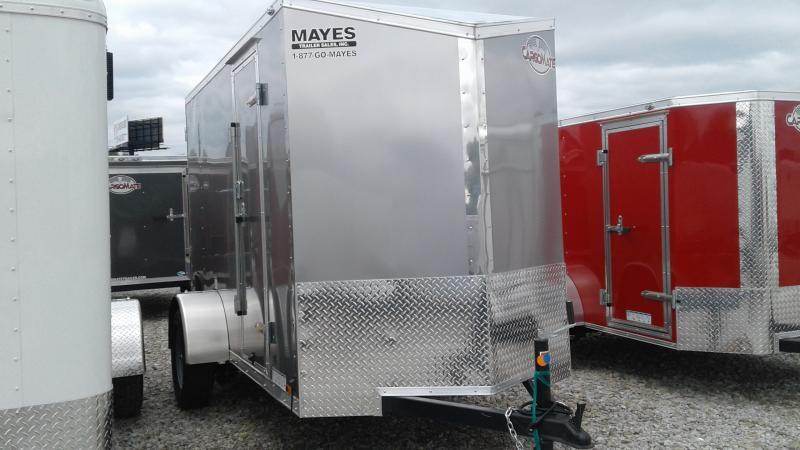2020 5x10 SA Cargo Mate EHW510SA Enclosed Cargo Trailer - Ramp Door - 12