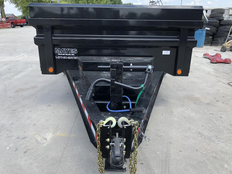2019 83X14 TA Load Trail DH8314072 Dump Trailer - 8 Inch I-Beam - 3-Way Gate (GVW:  14000)