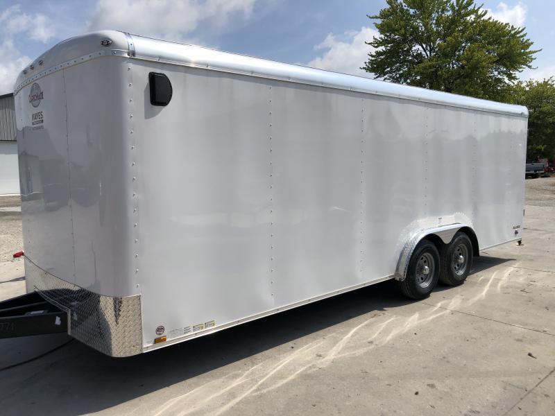 2020 8x22 TA Cargo Mate BL822TA3 Enclosed Cargo Trailer - Ramp Door - D-Rings (GVW:  9800)
