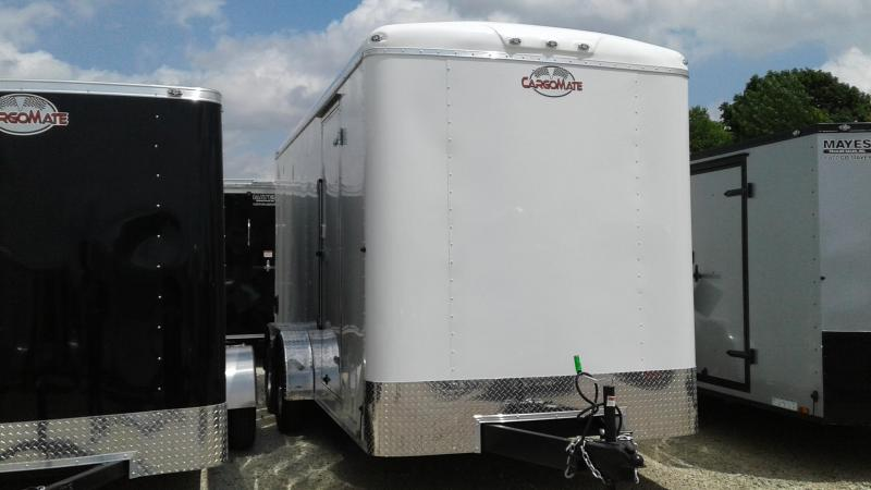"2020 7x16 TA Cargo Mate BL716TA2 Enclosed Cargo Trailer - Ramp Door - 12"" Additional Height (GVW:  7000)"
