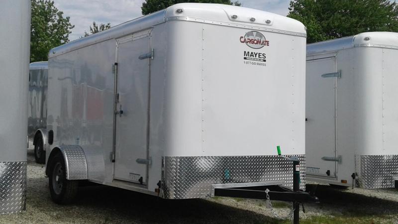 2020 6x12 SA Cargo Mate BL612SA Enclosed Cargo Trailer - Ramp Door - Torision (GVW:  2990)