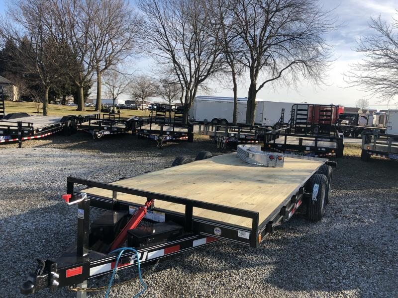 2019 83X20 Tilt PJ Trailers TH202 Equipment Trailer - Full Tilt (GVW:  9899)