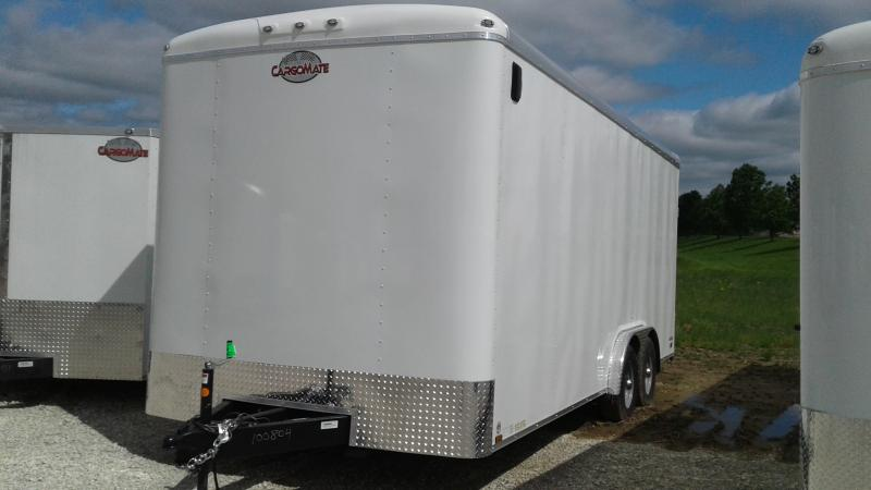 2020 8x20 TA Cargo Mate BL820TA3 Enclosed Cargo Trailer - Ramp Door