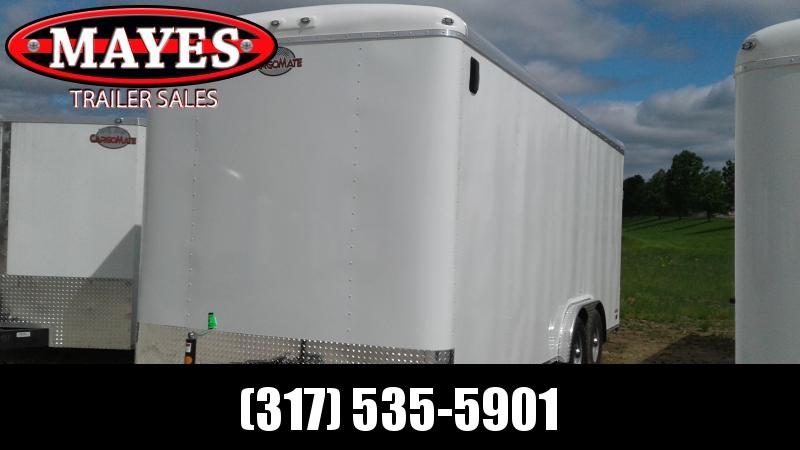 2020 8x20 TA Cargo Mate BL820TA3 Enclosed Cargo Trailer - Ramp Door