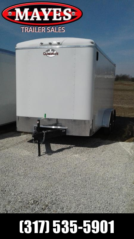 "2020 7x14 Cargo Mate BL714TA3 Enclosed Cargo Trailer - Ramp Door - 6"" Additional Height (GVW:  9800)"