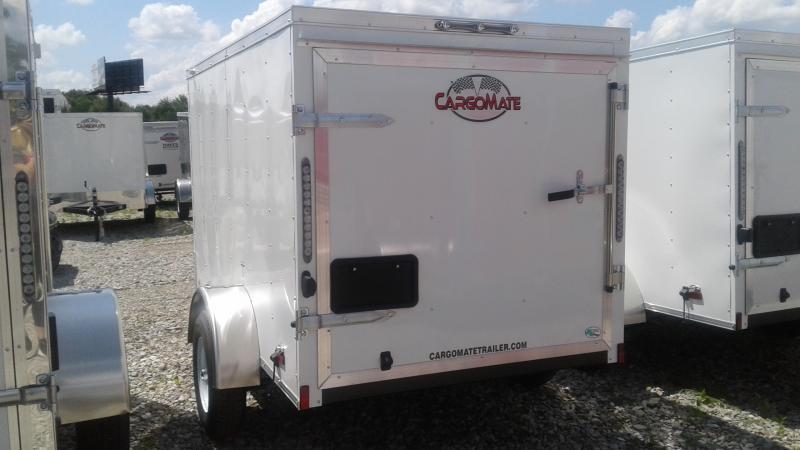 2020 5x8 SA Cargo Mate SS58SA Enclosed Cargo Trailer - 1 Rear Door (GVW:  2000)