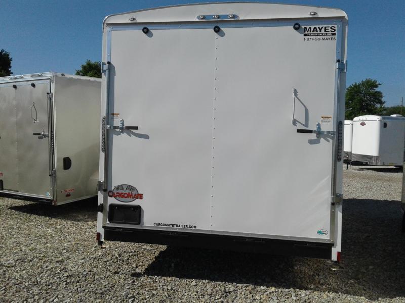 "2019 102x16 Cargo Mate BL816TA3 Enclosed Cargo Trailer - Polar White (RD)(GVW: 9800)(12"" Extra Height)"