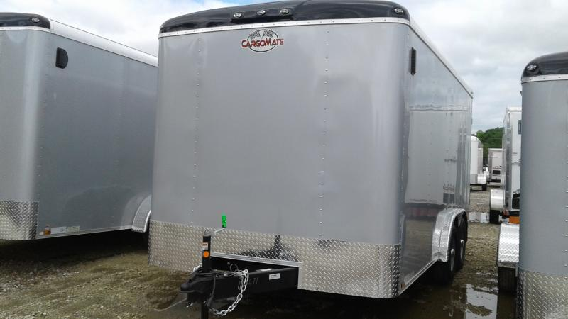 2020 8x16 TA Cargo Mate BL816TA3 Enclosed Cargo Trailer - Ramp Door - Torsion (GVW:  9800)