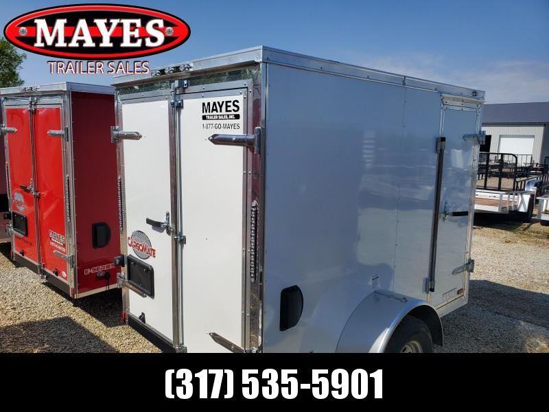 2020 5x8 SA Cargo Mate EHW58SA Enclosed Cargo Trailer - Rear Door - 6