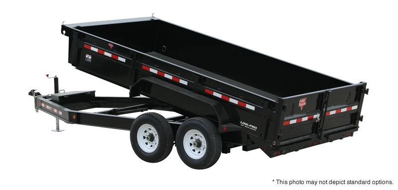 "2019 83x14 Low Pro Dump PJ Trailers 14' x 83"" Low Pro Dump Trailer - Tarp Kit (GVW:  14000)"