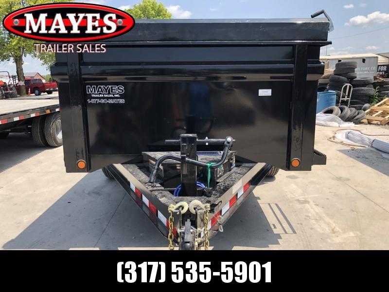 2019 83x14 TA High Side Load Trail Dump Trailer - Slide In Ramps - Scissor Hoist - Solar Panel Charger (GVW:  14000)