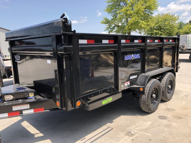 2019 83x14 TA High Side Load Trail Dump Trailer - Slide In Ramps - Scissor Hoist - Solar Panel Charger (GVW:  14000)