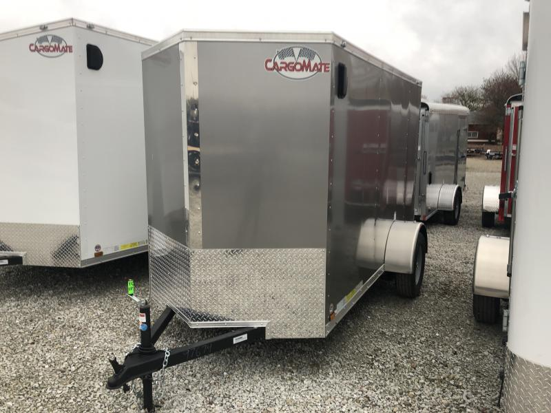 2019 5x10 Forest River EHW510SA Enclosed Cargo Trailer - Ramp Door - Side By Side Package (GVW:  2990)