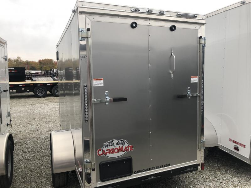 """2019 5x10 Forest River EHW510SA Enclosed Cargo Trailer - Ramp Door - Side By Side Package (GVW:  2990)(12"""" Extra Height)"""