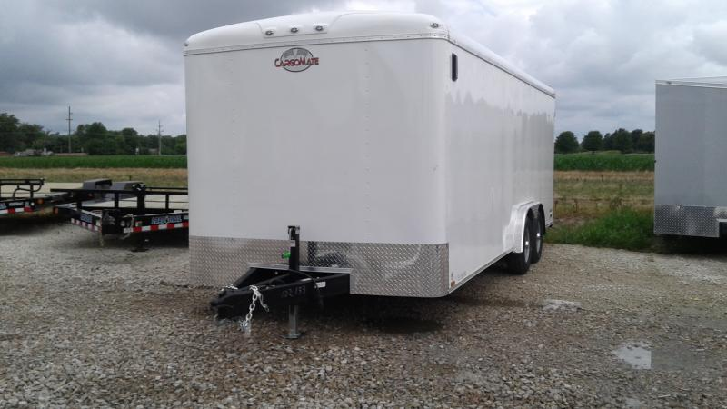 2020 Cargo Mate BL820TA3 Commercial Cage and Frame Upgrade Enclosed Cargo Trailer