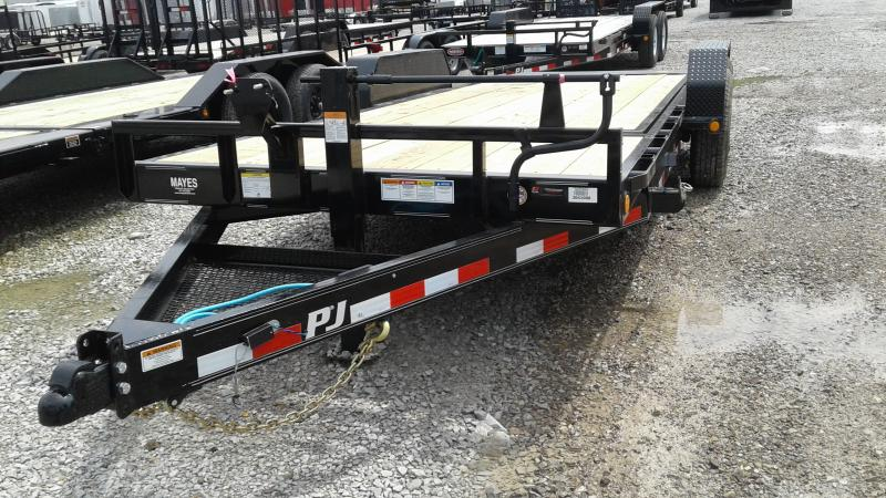 2020 20' (4+16) TA Tilt PJ Trailers 20'x6 - Torsion (GVW:  14000)