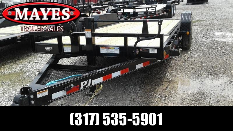 2020 83x20 (16+4) TA Tilt PJ Trailers  - Torsion (GVW:  14000)