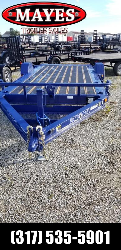 2019 83x15 Load Trail TD15 Equipment Tilt Trailer - (GVW: 7000) *Navy Blue*