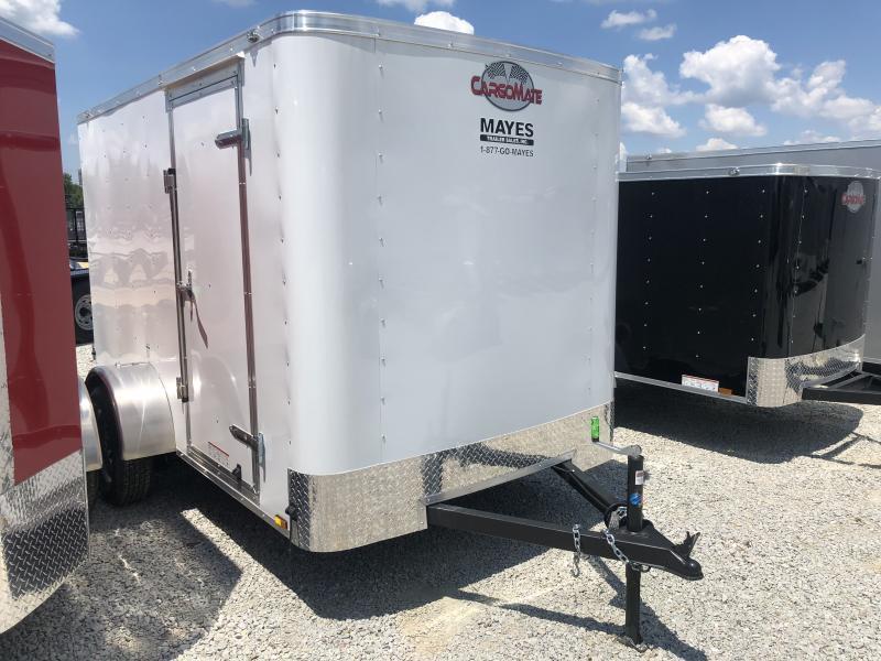 2019 6x10 Cargo Mate SS610SA Enclosed Cargo Trailer - White (RD)(GVW: 2990)