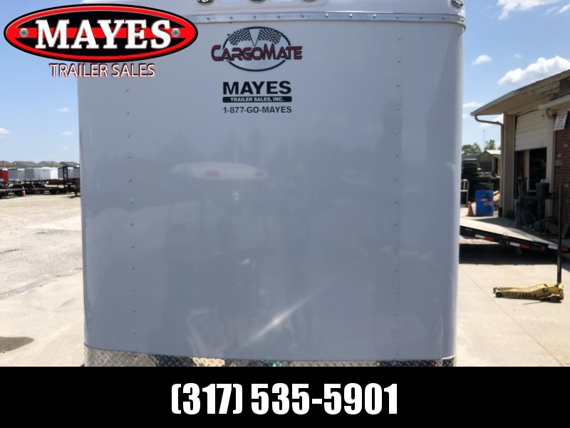 2020 6x12 SA Cargo Mate BL612SA Enclosed Cargo Trailer - Ramp Door - 6 Inch Additional Height (GVW:  2990)