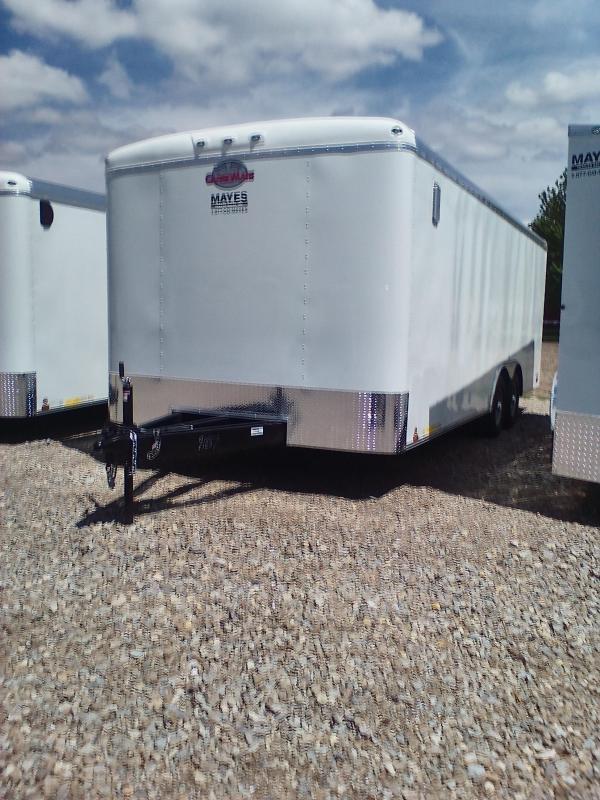 2019 102x20 Cargo Mate BL820TA3 Enclosed Cargo Trailer - Polar White (RD)(GVW: 9800)