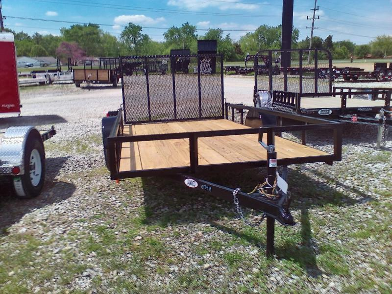 2019 76x10 American Manufacturing Operations A610GN Utility Trailer - 4' Gate (GVW: 2990)