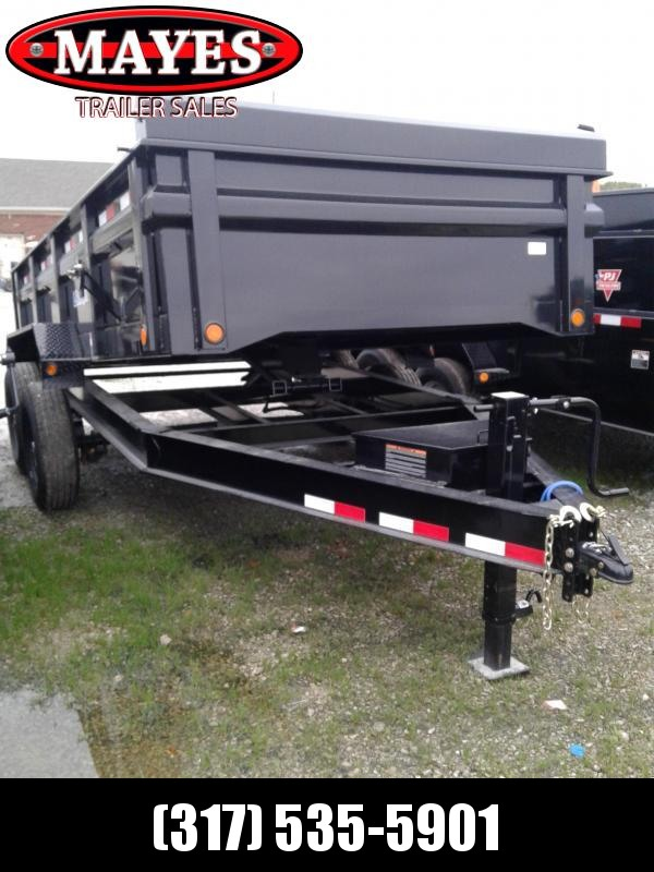 "2019 5x10 Load Trail DT10 Dump Trailer - (Split/Spreader Gate)(Tarp Kit)(Ramps)(GVW: 7000) *24"" Side Extensions*"