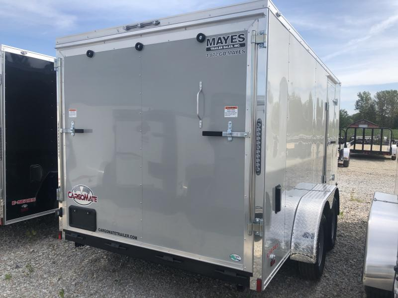2020 7x14 TA Cargo Mate EHW714TA2 Enclosed Cargo Trailer - Ramp Door - E & V Series Pkg. #2 (GVW:  7000)