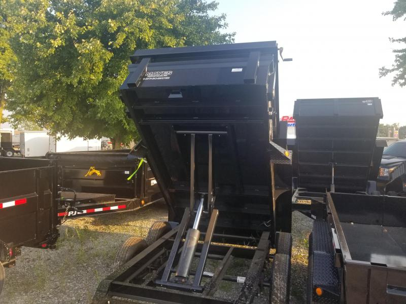 2019 5x10 Load Trail DT60 Dump Trailer - (Ramps)(Split/Spreader)(GVW: 7000)