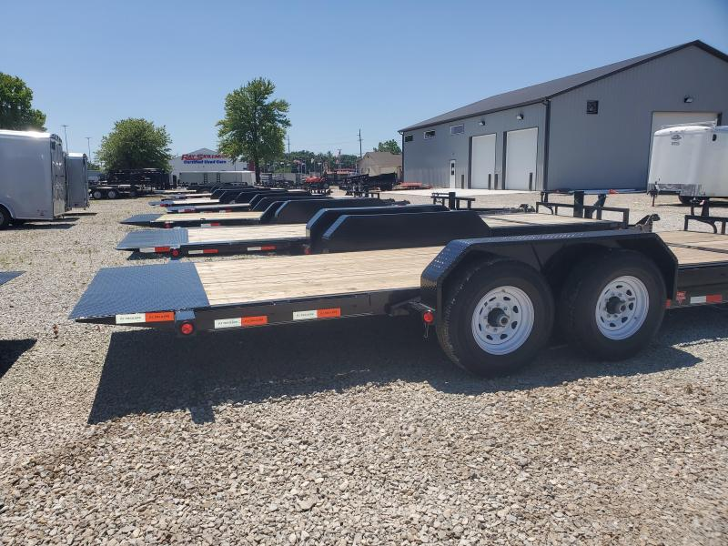 "2020 20' (4+16) TA Tilt PJ Trailers 20'x6"" Channel Equipment Tilt Trailer - Torsion (GVW:  14000)"