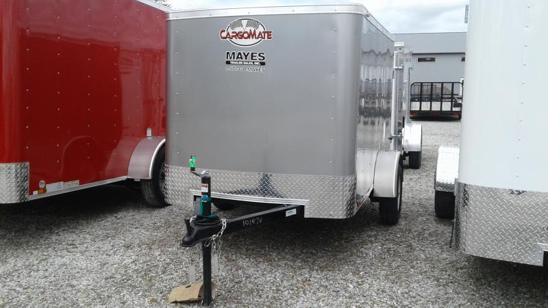 2020 5x8 SA Cargo Mate SS58SA Enclosed Cargo Trailer - Rear Door - .030 Metal Upgrade (GVW:  2000)