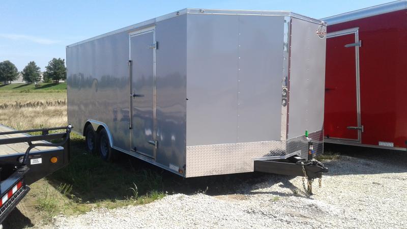 2020 102x20 TA Cargo Mate EHW8.520TA3 Enclosed Cargo Trailer - Ramp Door - D-Rings (GVW:  9800)