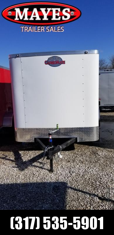 2019 6x12 Cargo Mate SS612SA Enclosed Cargo Trailer - Ramp Door (GVW:  2990)