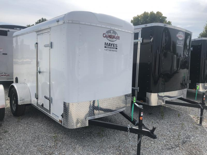 2020 5x10 SA Cargo Mate BL510SA Enclosed Cargo Trailer - Ramp Door - 6 Inches Additional Height (GVW:  3500)