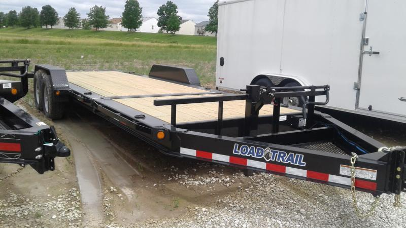 2019 83x22 (6+16) Tilt-N-Go Load Trail TH8322072 Equipment Trailer - D-Rings - Rub Rail (GVW:  14000)