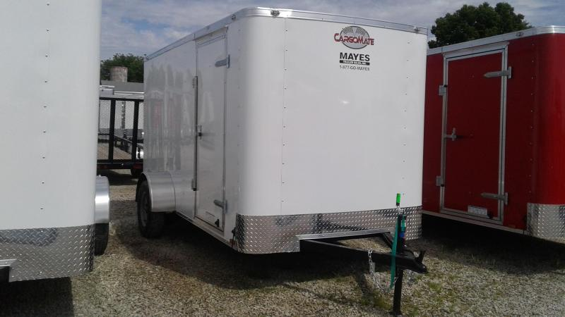 "2020 6x12 SA Cargo Mate SS612SA Enclosed Cargo Trailer - Ramp Door - 6"" Additional Height (GVW:  2990)"