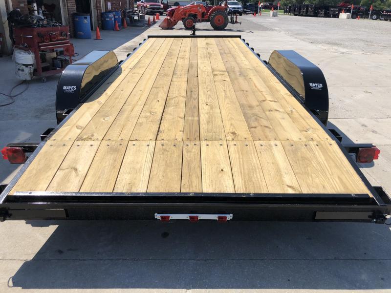 2020 82x20 (18+2) TA American Manufacturing Operations (AMO) UT202 Utility Trailer - Rear Slide In Ramps (GVW:  7000)