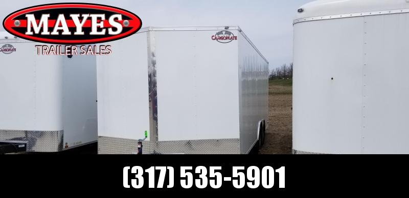 2020 8.5x20 TA Cargo Mate EHW8.520TA2 Enclosed Cargo Trailer - Ramp Door (GVW:  7000)