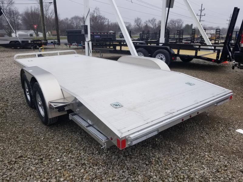 2019 82x18(16+2' Dovetail) Aluminum Trailer Company OCH1835 Car / Racing Trailer - w/ 7' Ramps (GVW: 7000)