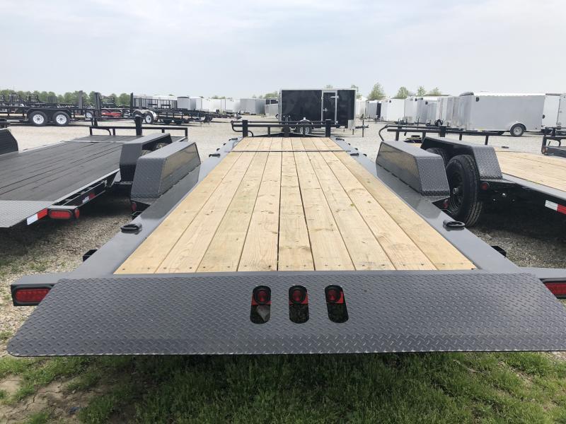 2018 83x24(16' Tilt + 8' Stationary) Tilt-N-Go Load Trail TD Equipment Trailer - (GVW: 14000)