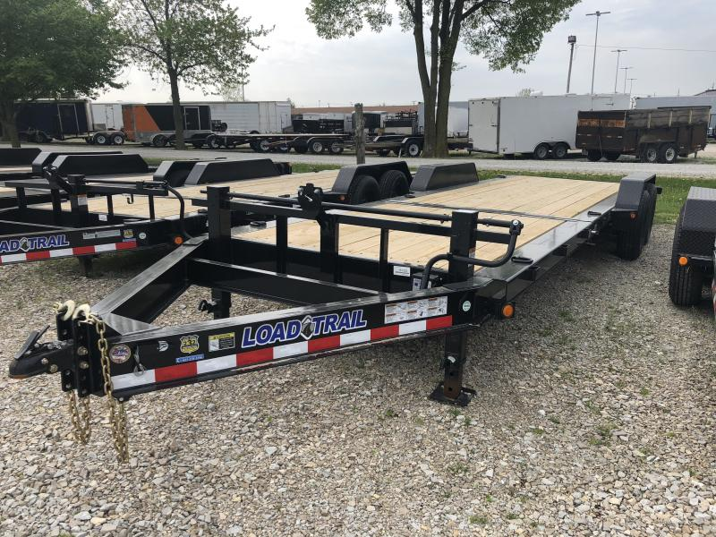2018 83x24(16' Tilt + 8' Stationary) Tilt-N-Go Load Trail TD Equipment Trailer - (GVW: 14000)