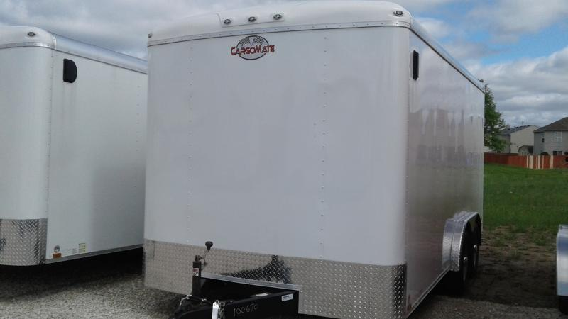 2020 8x16 TA Cargo Mate BL816TA3 Enclosed Cargo Trailer - Ramp Door - 6