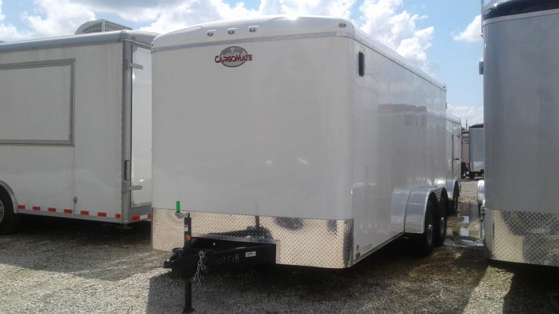 2020 7x16 TA Cargo Mate BL716TA3 Enclosed Cargo Trailer - Ramp Door - Torsion (GVW:  9800)