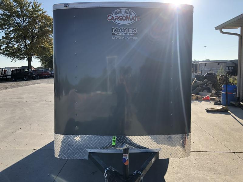 2020 6x12 SA Cargo Mate SS612SA Enclosed Cargo Trailer - Ramp Door - .030 Metal Upgrade - 6 Inch Additional Height (GVW:  2990)